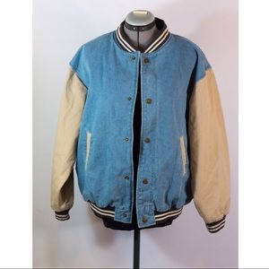 Cobra jean bomber jacket!!
